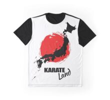 Karate Land - Japanese martial Art Graphic T-Shirt