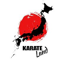 Karate Land - Japanese martial Art Photographic Print