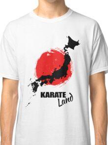 Karate Land - Japanese martial Art Classic T-Shirt