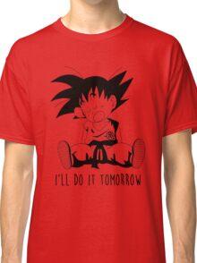 Goku sleeping Classic T-Shirt