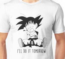 Goku sleeping Unisex T-Shirt