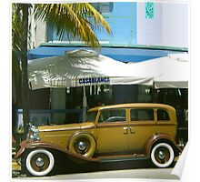 SOUTH BEACH TRANSPORTATION Poster