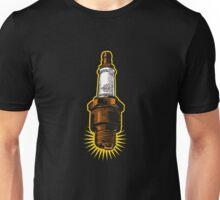 Sparkplug - turquoise & black Unisex T-Shirt