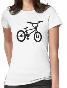 BMX bike Womens Fitted T-Shirt