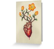 This Blossoming Bleeding Heart Greeting Card