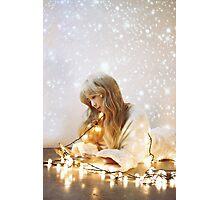 kim taeyeon dear santa Photographic Print