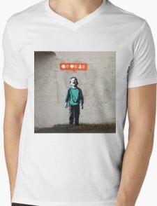 Street Art Nobody Likes Me Mens V-Neck T-Shirt