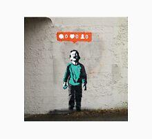 Street Art Nobody Likes Me Unisex T-Shirt