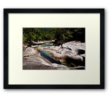 The Boulders, North Queensland Framed Print