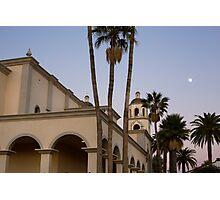 Saint Augustine Cathedral. Tucson, Arizona, USA. Photographic Print