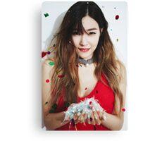 Tiffany snsd dear santa Canvas Print