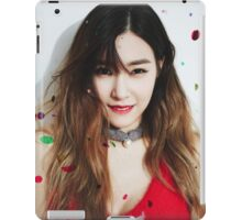 Tiffany snsd dear santa iPad Case/Skin