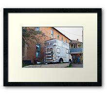 Old Pueblo Food Truck Framed Print