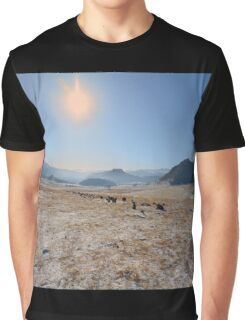 sky and mountains Graphic T-Shirt
