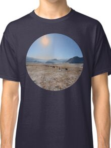 sky and mountains Classic T-Shirt
