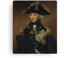Admiral Horatio Nelson Canvas Print