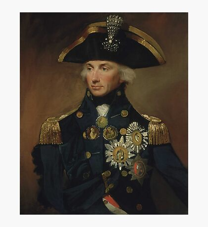 Admiral Horatio Nelson Photographic Print