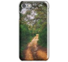 Woodland paths iPhone Case/Skin