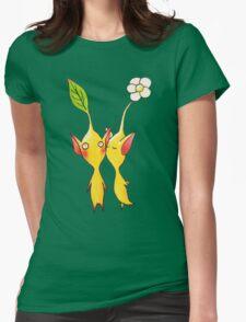Nintendo Pikmin Kiss Womens Fitted T-Shirt