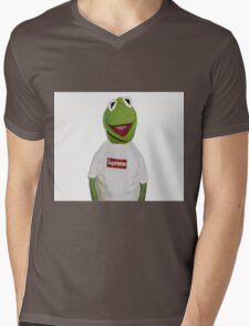 Supreme Kermit Mens V-Neck T-Shirt