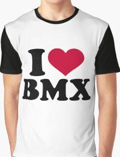 I love BMX Graphic T-Shirt