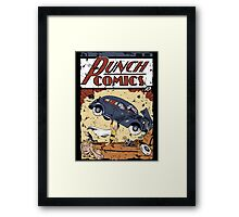 Punch Comics Framed Print