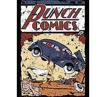 Punch Comics Photographic Print