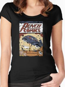 Punch Comics Women's Fitted Scoop T-Shirt