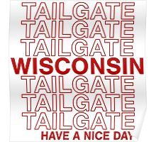 Wisco Tailgate Poster