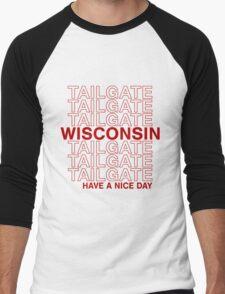 Wisco Tailgate Men's Baseball ¾ T-Shirt