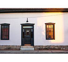 Old Pueblo Housefront. Tucson, Arizona, USA. Photographic Print