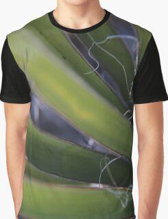 Green Yucca Leaves. Chiricahua Mountains, Arizona, USA. Graphic T-Shirt