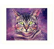 Cat John Art Print