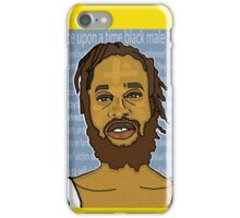 ONCE UPON A TIME, BLACKMAN iPhone Case/Skin