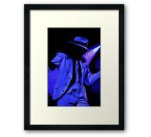 Michael Jackson - Annie, Are You Okay? Framed Print