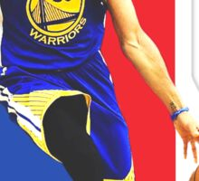 Stephen Curry of Golden State Sticker