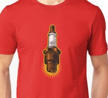 Sparkplug - racing check Unisex T-Shirt