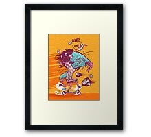 FISHBOY Framed Print