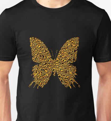 Golden butterfly Unisex T-Shirt