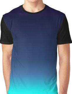 Sea blue Graphic T-Shirt