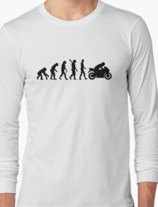 Evolution motorcycle Long Sleeve T-Shirt