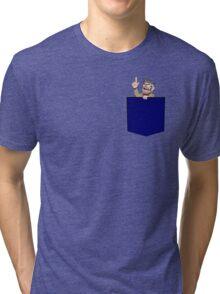 Pocket Ford Tri-blend T-Shirt