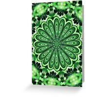 Mystery Green Puzzle Greeting Card
