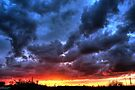 Angry Sunset by Vicki Spindler (VHS Photography)
