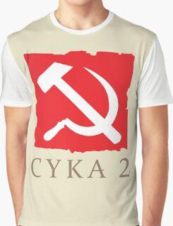 CYKA 2 Funny, Dota 2 Shirts Graphic T-Shirt