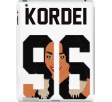 """Kordei '96 """"Face"""" Jersey iPad Case/Skin"""