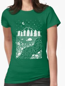 Wilderness Womens Fitted T-Shirt