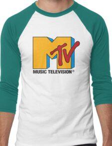 MTV 90's Logo Men's Baseball ¾ T-Shirt