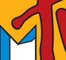 MTV 90's Logo Sticker