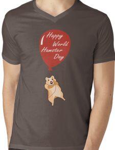 Happy World Hamster Day! 12th April Mens V-Neck T-Shirt